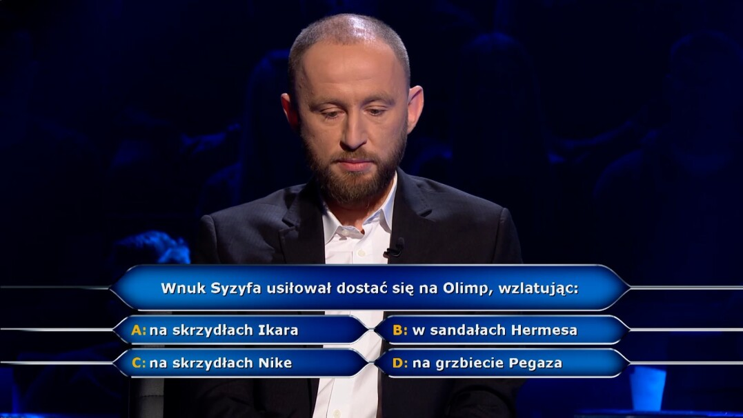 """""""Milionerzy"""": Pytanie z mitologii za ćwierć milionów złotych"""