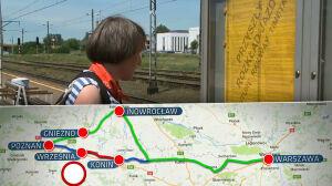 Remont linii do Poznania. Dwa lata utrudnień, kilka minut zysku