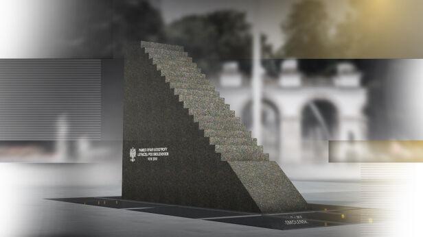 Pomnik smoleński na placu Piłsudskiego Fakty TVN