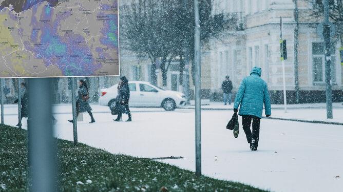 Pogoda na 5 dni: zimno, pochmurno, deszcz ze śniegiem i śnieg