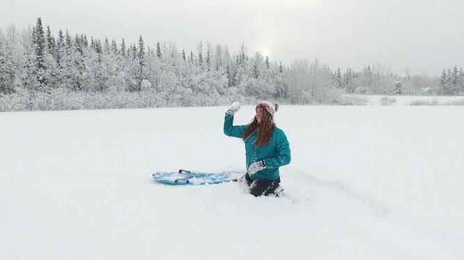 Część Alaski zaśnieżona <br />po raz pierwszy w tym sezonie