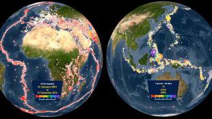 15 lat trzęsień ziemi. Zobacz niezwykłą animację