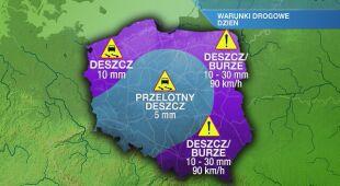 Warunki drogowe w czwartek 01.07