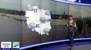 Dorota Gardias o dzisiejszych burzach (TVN24)