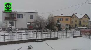 Gołdap pod śniegiem
