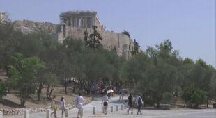 Upał w Grecji