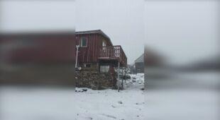 W Tasmanii sypnęło śniegiem